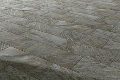 Pavimento esterno in gres porcellanato antiscivolo, antigelivo